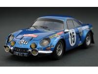 Headliner 1/43 Alpine Renault A110 1800 n.15 O. Andersson rally Monte Carlo 1973 modellino