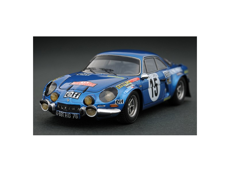Headliner 1/43 Alpine Renault A110 1800 n.15 O. Andersson rally Monte Carlo 1973 modellino