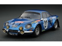 Headliner 1/43 Alpine Renault A110 1800 n.21 J.P. Nicolas rally Monte Carlo 1973 modellino