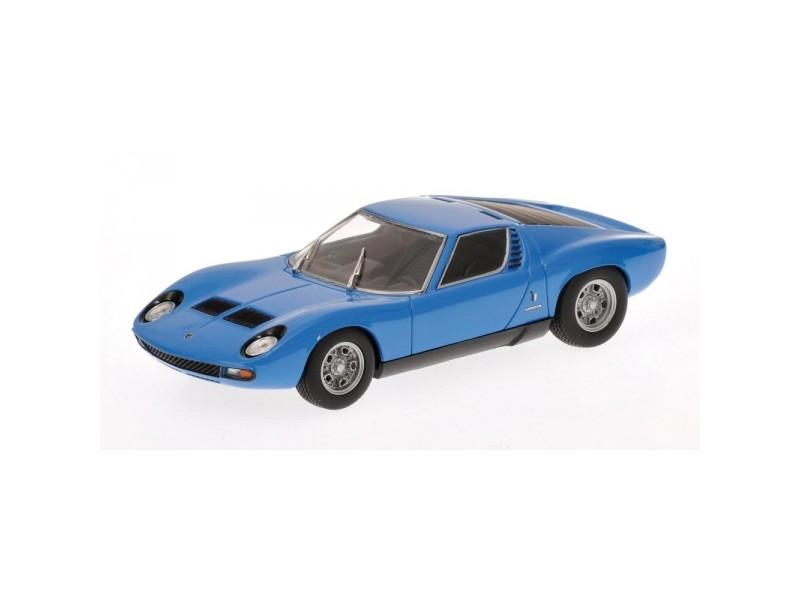 MINICHAMPS 1/43 LAMBORGHINI MIURA SV 1971 BLUE MODELLINO