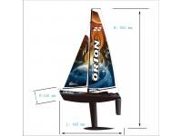 Joysway Orion barca a vela radiocomandata 2 canali 2.4GHZ RTR