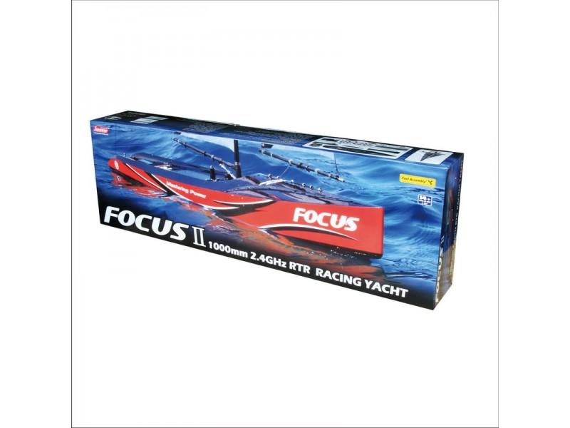 Joysway Focus 2 yacht a vela radiocomandato 4 canali 2.4GHZ RTR