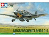 Tamiya 1/72 Messerschmitt Bf109 G-6 modello in kit di montaggio