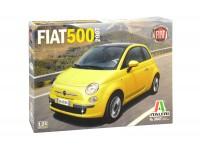 ITALERI 1/24 FIAT 500 2007 SCATOLA DI MONTAGGIO