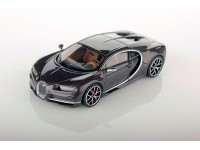 Looksmart 1/43 Bugatti Chiron Brown Carbon modellino