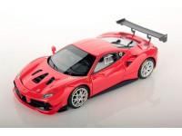 Looksmart 1/43 Ferrari 488 Challenge Rosso Scuderia modellino