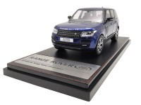 LCD Models 1/43 RANGE ROVER SV AUTOBIOGRAPHY DYNAMIC 2017 BLUE MODELLINO