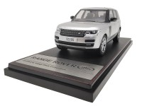 LCD Models 1/43 RANGE ROVER SV AUTOBIOGRAPHY DYNAMIC 2017 SILVER MODELLINO