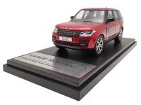LCD Models 1/43 RANGE ROVER SV AUTOBIOGRAPHY DYNAMIC 2017 ROSSA MODELLINO