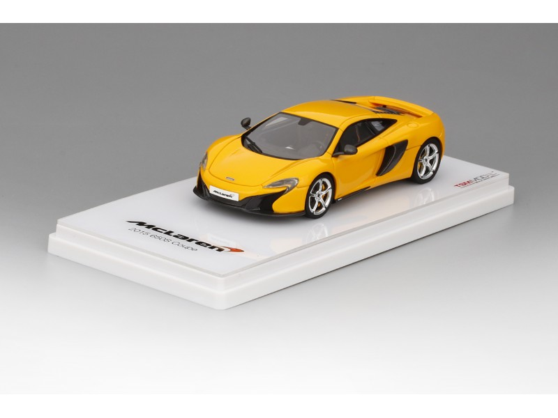 TSM MODEL MODELLINO AUTO 1:43 McLAREN 650 S COUPE' VOLCANO YELLOW 2015