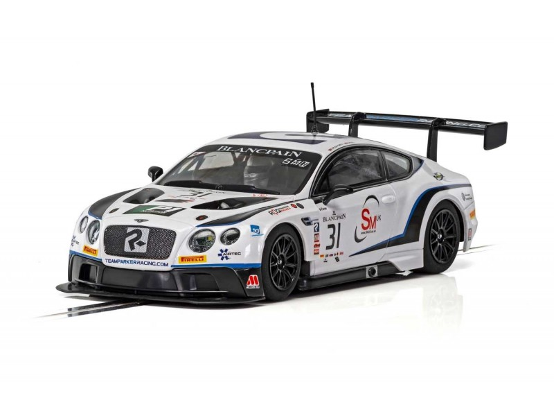 Scalextric 1/32 Bentley Continental GT3 Team Parker Racing Brands Hatch 2018 Modellino Slot Car