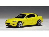 AUTOART 1/43 MAZDA RX-8 LIGHTING YELLOW MODELLINO
