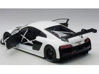 AUTOART 1/18 AUDI R8 LMS PLAIN COLOR VERSION BIANCA MODELLINO APRIBILE