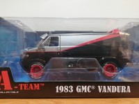 Greenlight 1/24 The A-Team 1983 GMC Vandura modellino