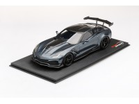 TOPSPEED 1/18 CHEVROLET CORVETTE ZR-1 SHADOW GREY METALLIC MODELLINO