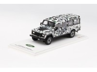 TSM MODEL 1/43 LAND ROVER DEFENDER CNN ARMOURED DEFENDER PIZZA TRUCK MODELLINO