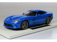 TOPMARQUES COLLECTIBLES 1/18 Dodge Viper GTS SRT 2014 racing blue