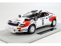 TOPMARQUES COLLECTIBLES 1/18 Toyota Celica vittoria Safari 1992 Carlos Sainz