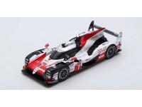 Spark Model 1/18 TOYOTA TS050 HYBRID N.7 24 ore Le Mans 2018 modellino