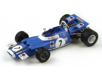 Spark Model 1/18 Matra MS80 No. 7 GP Francia 1969 Jean-Pierre Beltoise modellino