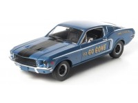 "Greenlight 1/18 Ford Mustang Fastback 2+2 Jimbo's Pure Oil ""Go Go Gone"" modellino"