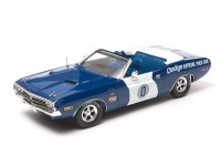 Greenlight 1/18 1971 Dodge Challenger Convertible Ontario Motor Speedway Pace Car modellino