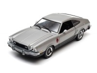 Greenlight 1/18 Ford Mustang II Stallion Colore argento modellino