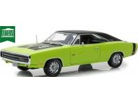 Greenlight Artisan collection 1/18 Dodge Charger R/T SE Sublime Green modellino