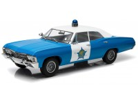 Greenlight Artisan collection 1/18 Chevrolet Biscayne Chicago Police model