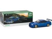 Greenlight Artisan collection 1/18 Nissan Skyline GT-R (R34) Bayside Blue modellino
