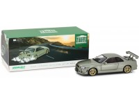 Greenlight Artisan collection 1/18 Nissan Skyline GT-R (R34) Millennium Jade modellino