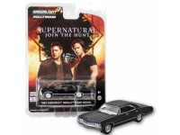 Greenlight Hollywood 1/64 Chevrolet Impala sport Sedan da serie TV Supernatural modellino