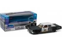 "Greenlight 1/24 Dodge Monaco ""Bluesmobile"" 1974 modellino"