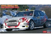 Hasegawa 1/24 Toyota Corolla WRC 2000 Monte Carlo Rally scatola di montaggio