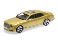 ALMOST REAL 1/18 BENTLEY MULSANNE SPEED 2017 COLORE ORO MODELLINO