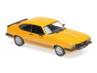 MAXICHAMPS 1/43 FORD CAPRI 1982 ORANGE MODELLINO