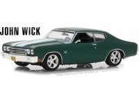 Greenlight 1/43 Chevrolet Chevelle SS 396 from the movie John Wick 2014 model