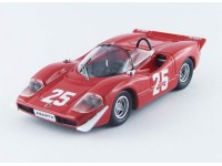 Best Model 1/43 Abarth 2000 Nurburgring 1969 T. Hezemans modellino
