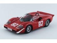 Best Model 1/43 Abarth 2000S Campionato Europeo Montagna 1969 A. Merzario modellino