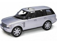Welly 1/18 Land Rover Range Rover argento modellino