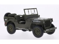 Welly 1/18 Jeep Willys MB 1941 modellino