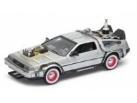 Welly 1/24 DeLorean Back to the Future III 1983 modellino