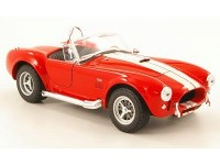 Welly 1/24 Shelby Cobra 427 SC 1965 rossa modellino