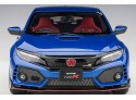 AUTOART 1/18 HONDA CIVIC TYPE R (FK8) BRILLIANT SPORTY BLUE METALLIC MODELLINO APRIBILE