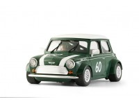 BRM Mini Cooper british green n.60 Slot Car 1/24