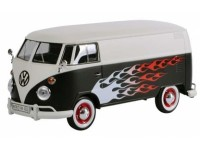 MOTORMAX 1/24 VW T1 DELIVERY VAN HOT ROD MODELLINO