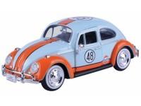 Motormax 1/24 Volkswagen Beetle Gulf n.48 1966 modellino