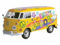 Motormax 1/24 VW Type 2 T1 flower power modellino