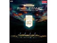 ACADEMY 1/400 R.M.S. Titanic Premium Edition with LED MODELLO IN KIT DI MONTAGGIO