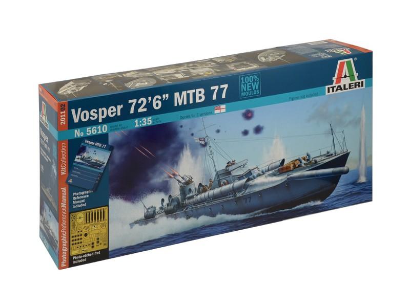 ITALERI 1/35 VOSPER 72 6 MBT 77 SCATOLA DI MONTAGGIO